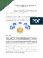 Diferentes tipos de sociedades con su base legal ubicada en el código de comercio de Guatemala.docx