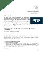 Taxation Des Succursales de Sociétés Étrangères en Belgique