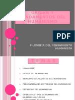 Origen y fundamentos del humanismo Kamilapea 101114191432 Phpapp01