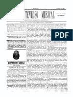 Montevideo Musical 3 - Junio 1885