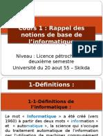 bases d Informatique