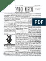 Montevideo Musical 11 - Agosto 1885