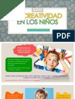 La Creatividad en Los Niños