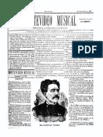 Montevideo Musical 15 - Setiembre 1885