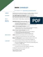 Chandley.M Resume