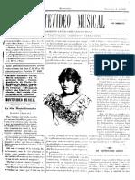 Montevideo Musical 22 - Noviembre 1885