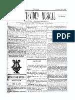 Montevideo Musical 24 - Noviembre 1885