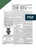 Montevideo Musical 25 - Diciembre 1885