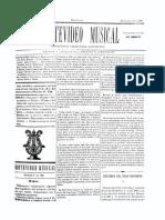 Montevideo Musical 26 - Diciembre 1885