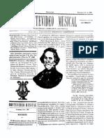 Montevideo Musical 27 - Diciembre 1885
