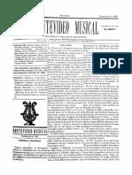 Montevideo Musical 28 - Diciembre 1885