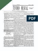Montevideo Musical 33 - Febrero 1886