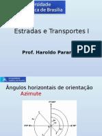 5 - Topografia Aplicada - Estrada e Transportes I