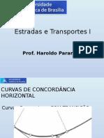 8 - Curva de Transição - Estrada e Transportes I