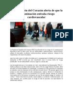 La Fundación del Corazón alerta de que la contaminación entraña riesgo cardiovascular.pdf