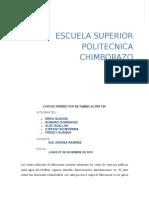 Costos Indirectos de Fabricación Ci1