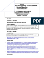 MPRWA Special Meeting REVISED Agenda Packet 04-26-16