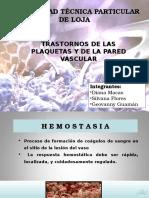 HEMOSTASIA-PRIMARIA