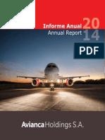Informe de Gestion Avianca 2014