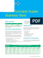 Outokumpu Formable Duplex Stainless Steel