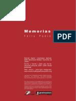 Padín, Félix - Memorias
