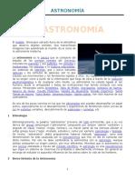 Astronom í A