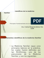 Fundamentos de la medicina familiar