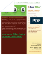 Online Billing System Software