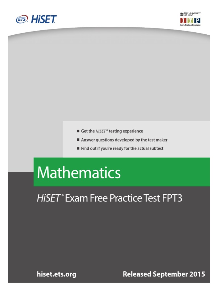 Magnificent Mathematics Practice Tests Pattern - General Worksheet ...