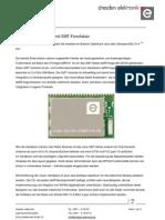 ZigBee Transceiver SMT Formfaktor