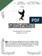 LARP Richtlinien Codex DSA