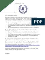 united greek council scholarship