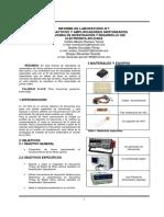 Informe Laboratorio Filtros Activos