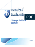 IB 21 TRGAEDSFV