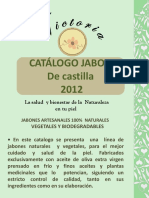 Catálogo Jabones