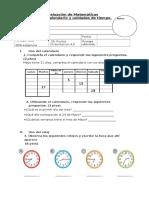 Evaluacion Unidades de Tiempo
