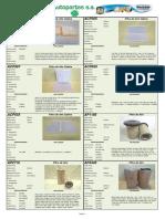 Catalogo de Tecfil 2015