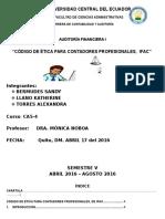 Codigo de Etica Para Contadores Profesionales Ifac 1