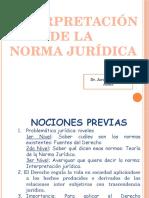6. Interpretación Jurídica y Metodos