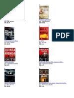 100 Melhores Livros de Suspense Amazon