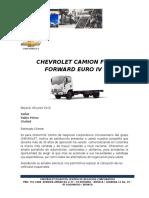 Cotizacion Chevrolet Camion FRR FORWARD EIV
