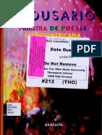 Medusario. Muestra de Poesía Latinoamericana - Roberto Echavarren, Jacobo Sefamí y José Kozer