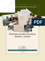 2014 Stake District and Mission Annual Histories Spa