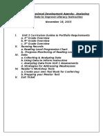 professional development agenda 11 18 15