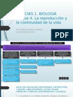 Ciencias 1dfh Bloque 4 La Reproduccion y La Continuidad de La Vida
