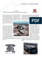 MeasurIT Red Valve Expansion Joints Project Stadium Arizona 0806