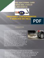 Emisiones Contaminantes y Anlisis de Fallas 2015 II