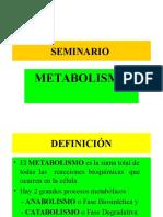 Clase 6 - Metabolismo