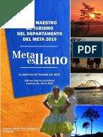 Plan Maestro de Turismo Del Departamento Del Meta 2010 - Copia