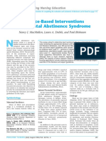 evidence based interventions for nas